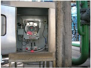 OCYIA在线油份监测仪现场安装照片